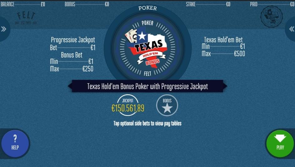 Unibet Casino Automated Poker