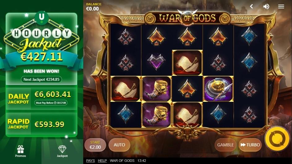 Unibet Casino Slots 3