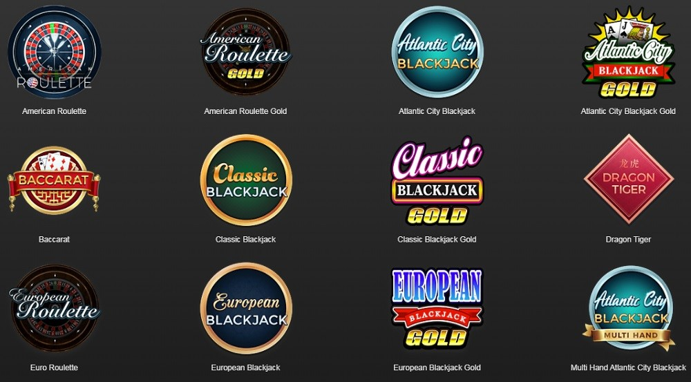 Yukon Gold Automated Casino Table Games