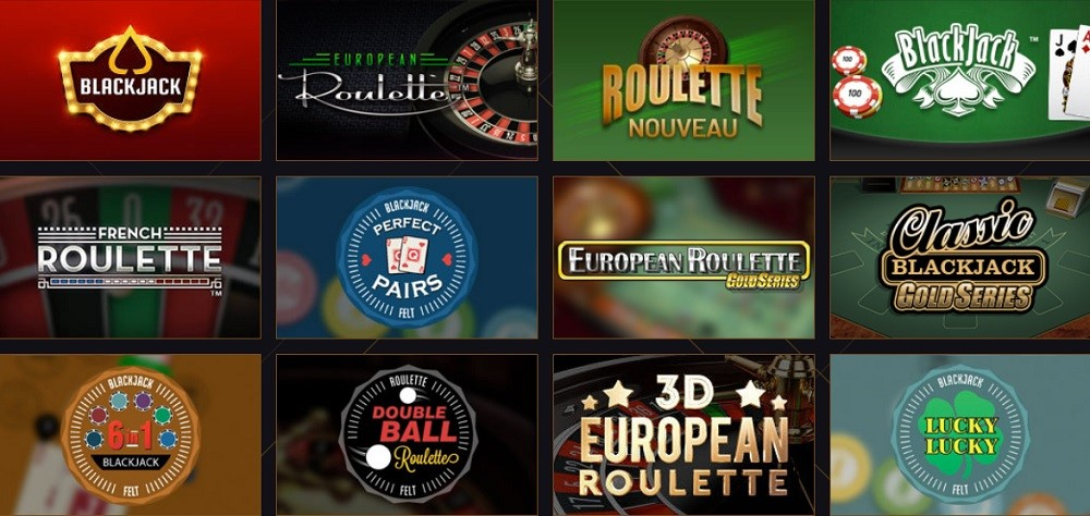 21 Casino Automated Casino Table Games