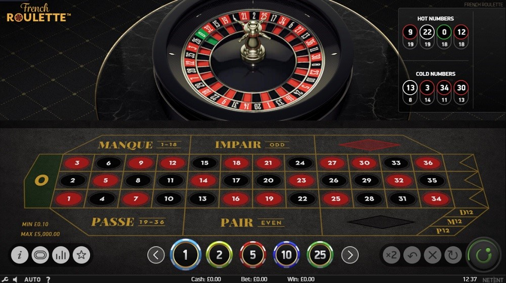 21 Casino Automated Roulette