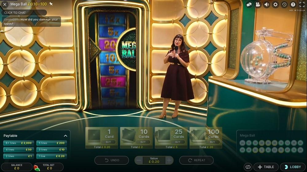 21 Casino Live Game Show
