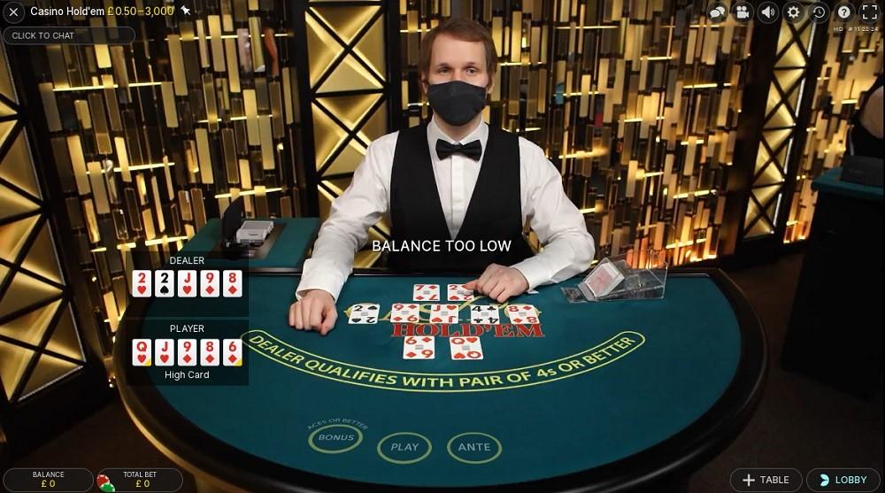 21 Casino Live Poker