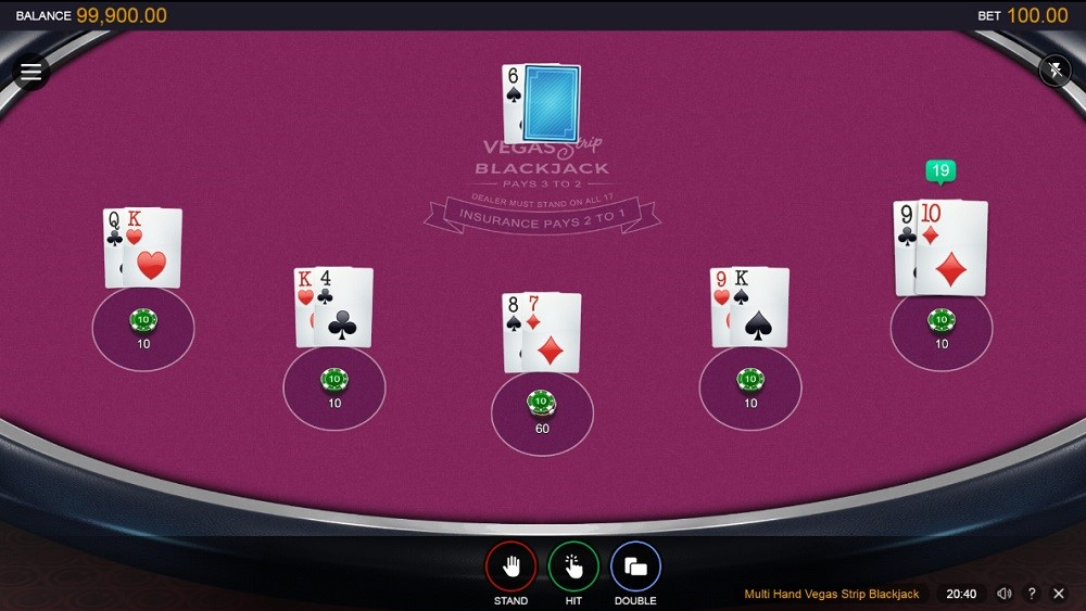 All Slots Casino Automated Blackjack