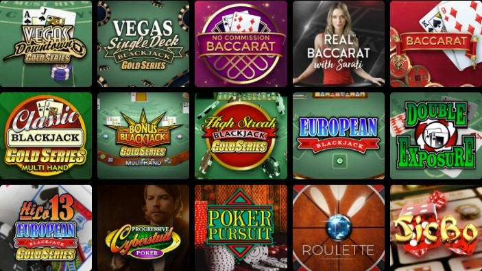 All Slots Casino Automated Casino Table Games