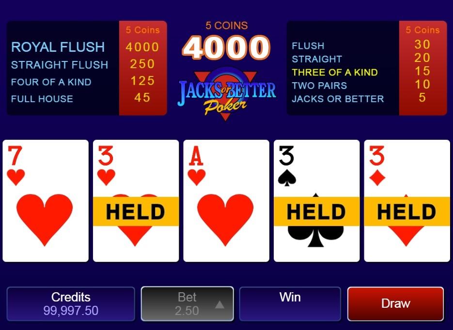All Slots Casino Automated Poker