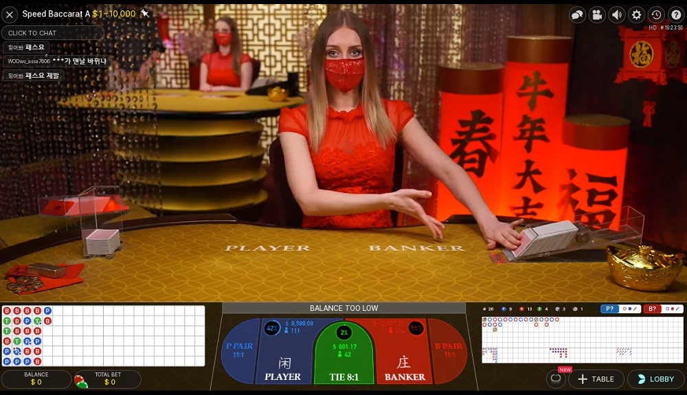 All Slots Casino Live Baccarat