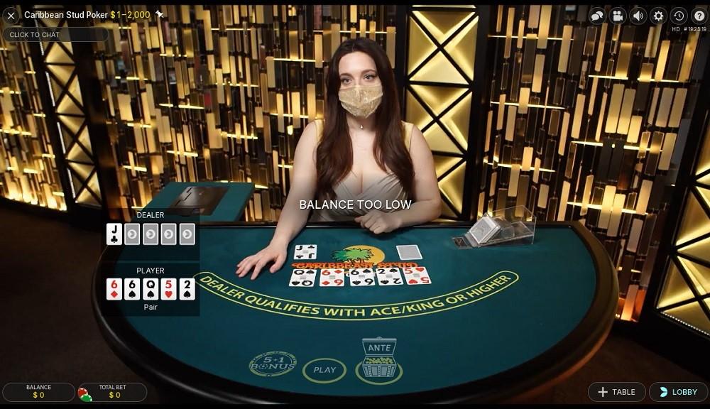 All Slots Casino Live Poker