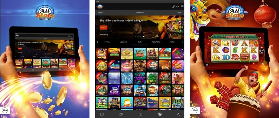 All Slots Casino Mobile Play