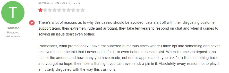 All Slots Casino Player Review 2