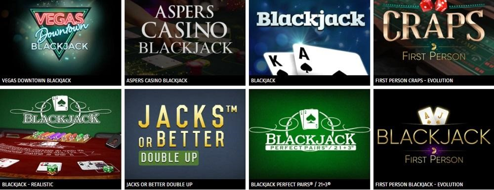 Aspers Casino Automated Casino Table Games
