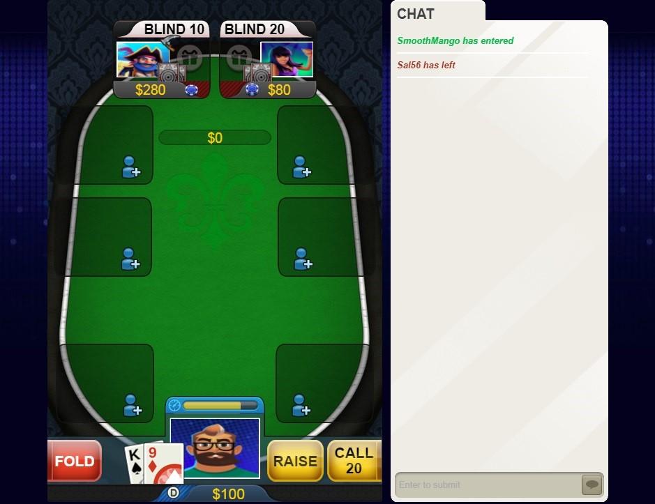 Big Fish Casino Automated Poker