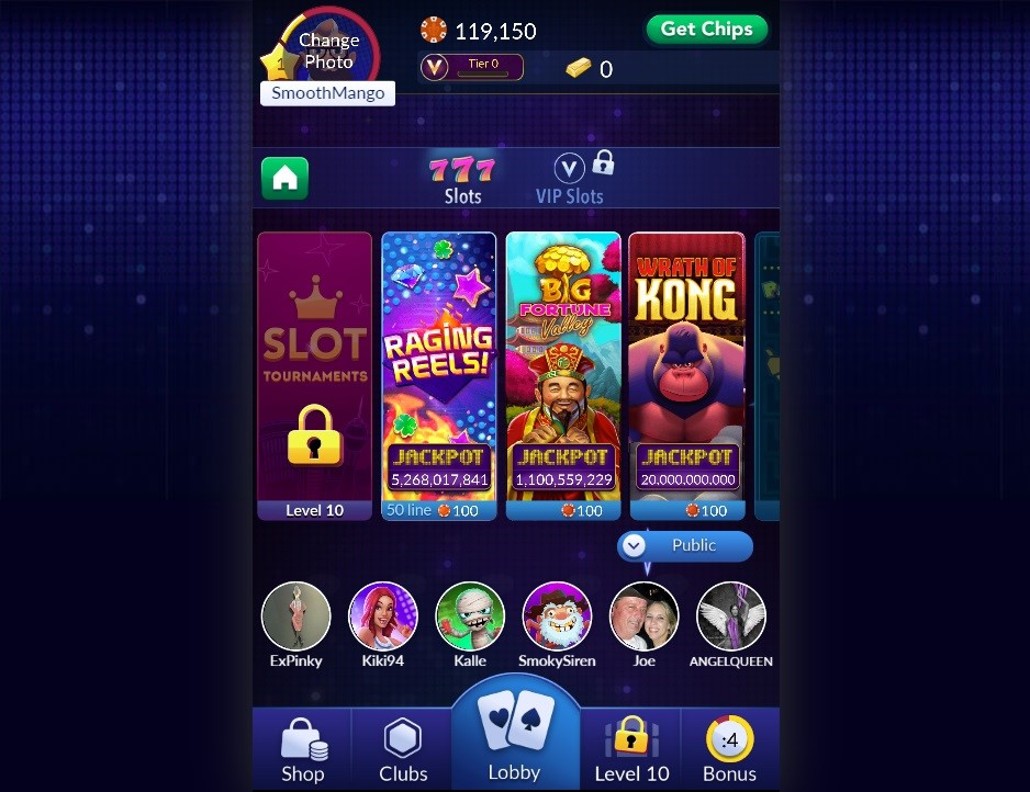 Big Fish Casino Members Area