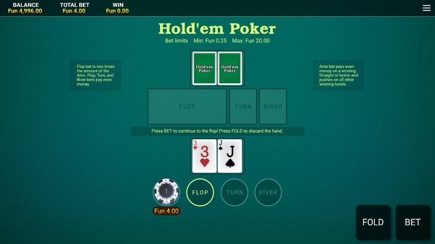 Bitcasino Automated Poker