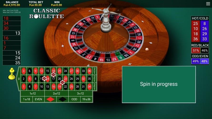 Bitcasino Automated Roulette