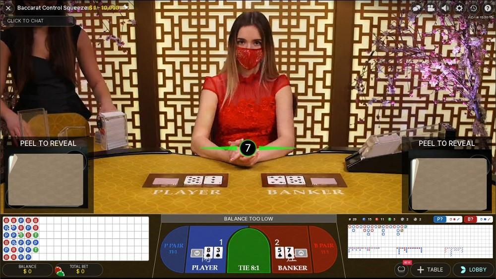 Bitstarz Casino Live Baccarat