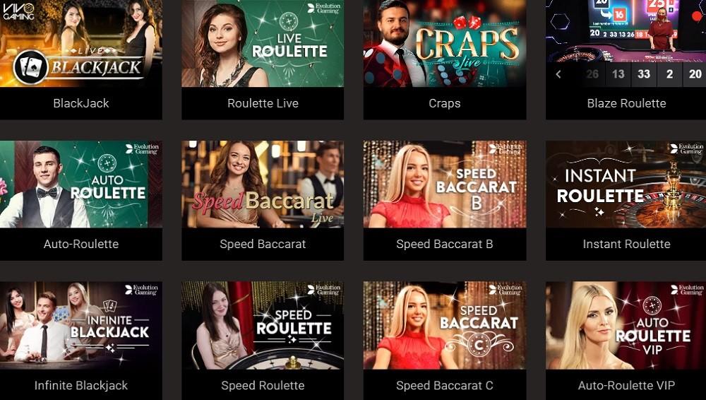 Bitstarz Casino Live Casino Games