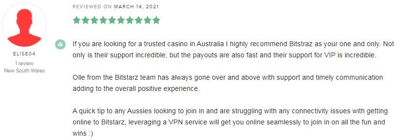 Bitstarz Casino Player Review 2