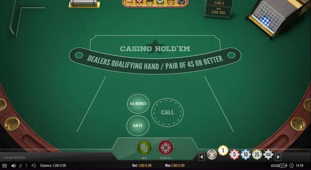Boom Casino Automated Poker