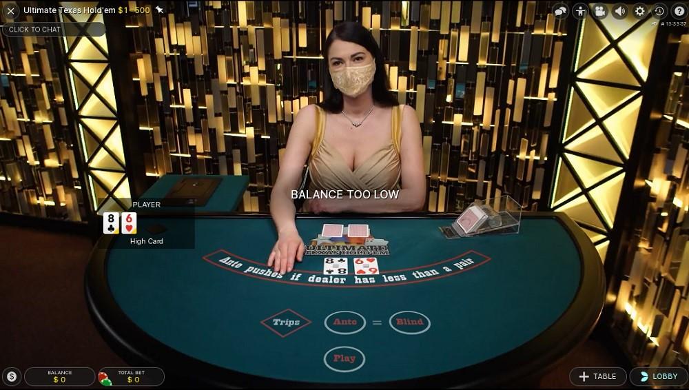 Boom Casino Live Poker
