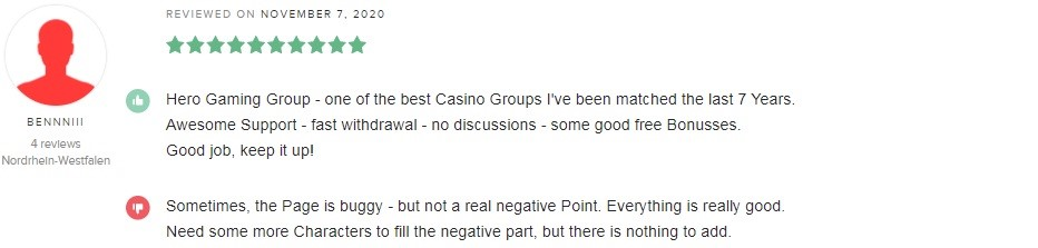 Boom Casino Player Review 3