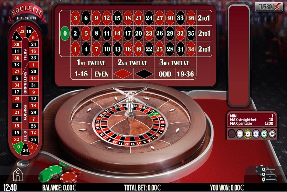 Bronze Casino Automated Roulette