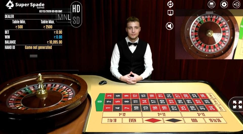 Bronze Casino Live Roulette