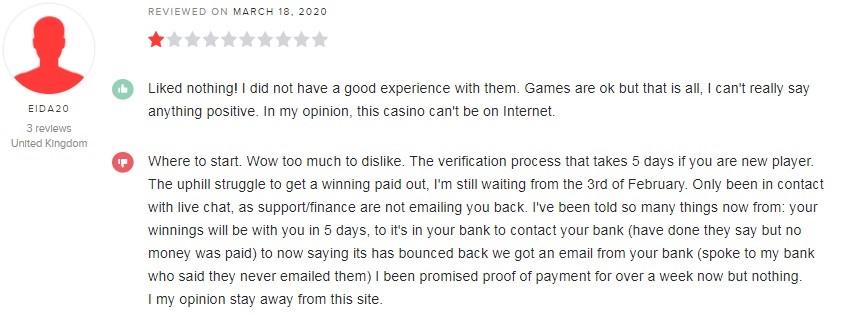 Bronze Casino Player Review 2