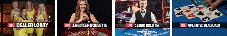Caesar Casino Live Casino Games