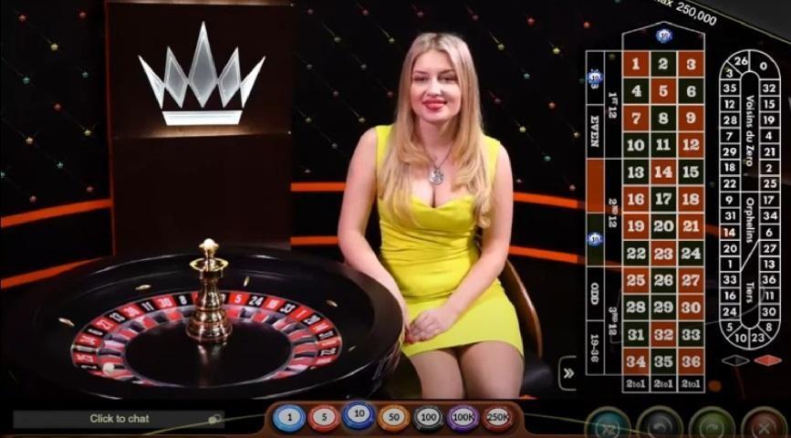 Caesar Casino Live Roulette