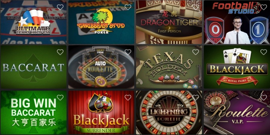 Casino Extra Automated Casino Table Games