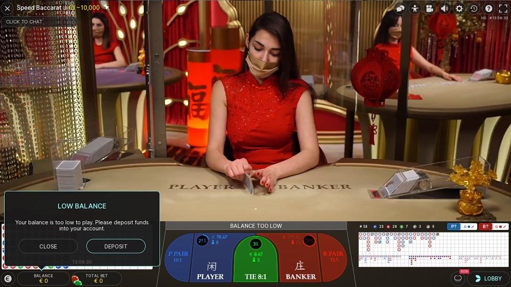 Casino Extra Live Baccarat