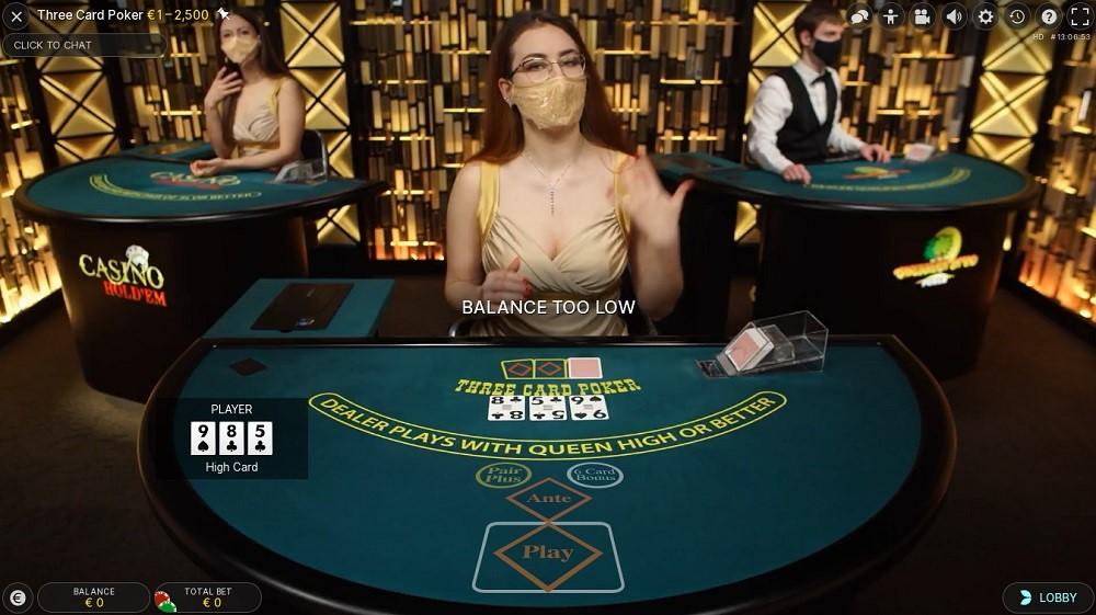 Casino Extra Live Poker