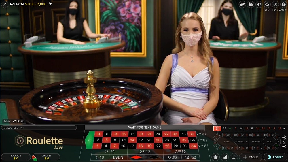 Casino Extra Live Roulette 2