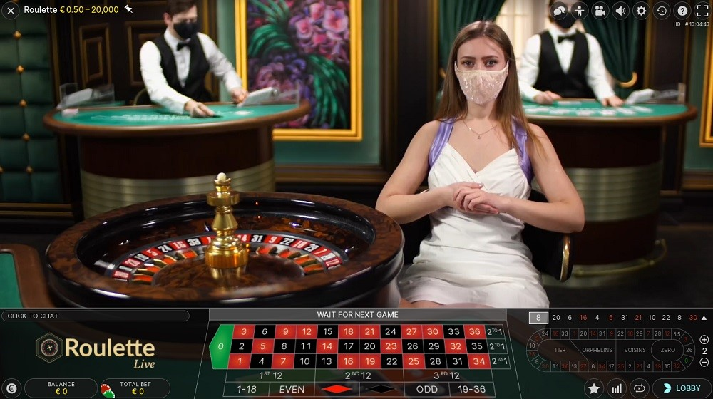 Casino Extra Live Roulette