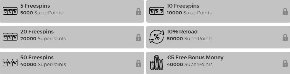 Casino Extra Rewards Program