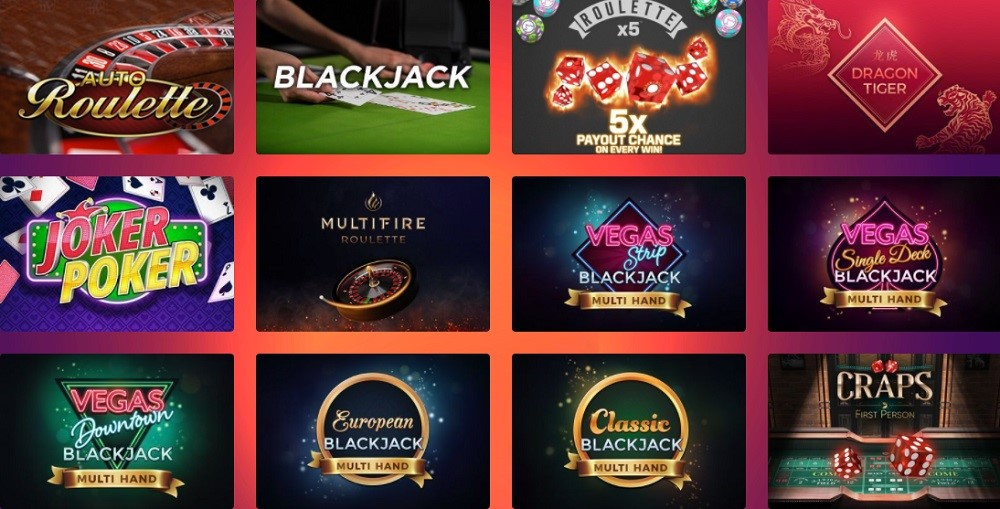 Casino Gods Automated Casino Table Games