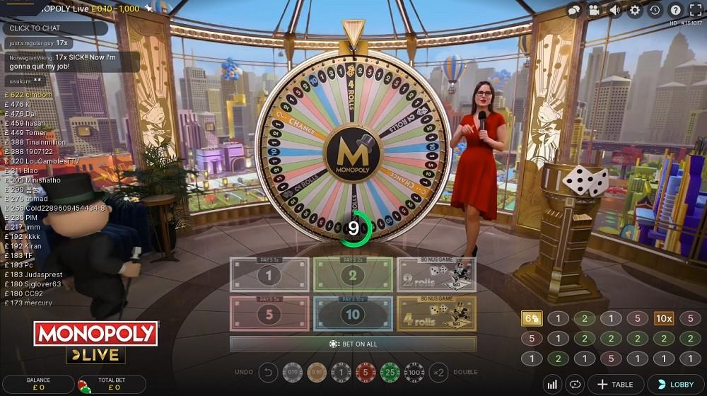 Casino Gods Live Game Show