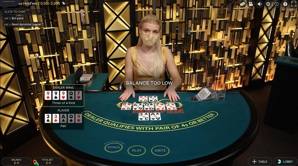 Casino Gods Live Poker