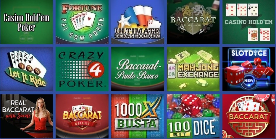 Casino Heroes Automated Casino Table Games