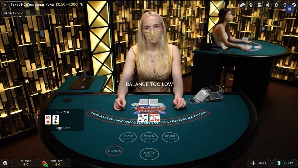 Casino Heroes Live Poker