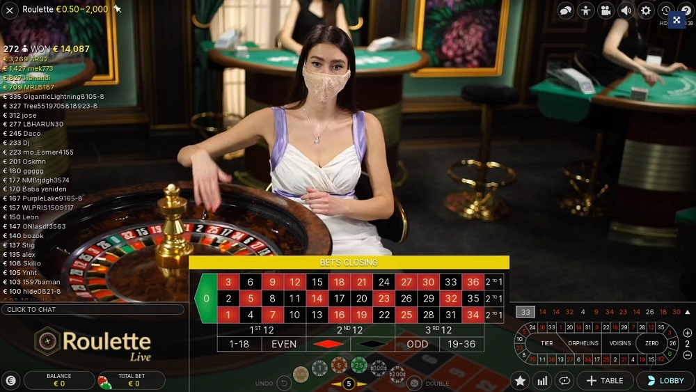 Casino Heroes Live Roulette