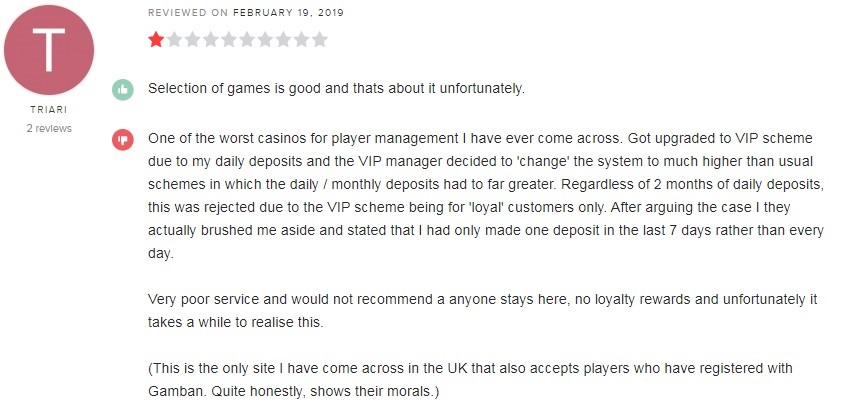 Casino Heroes Player Review