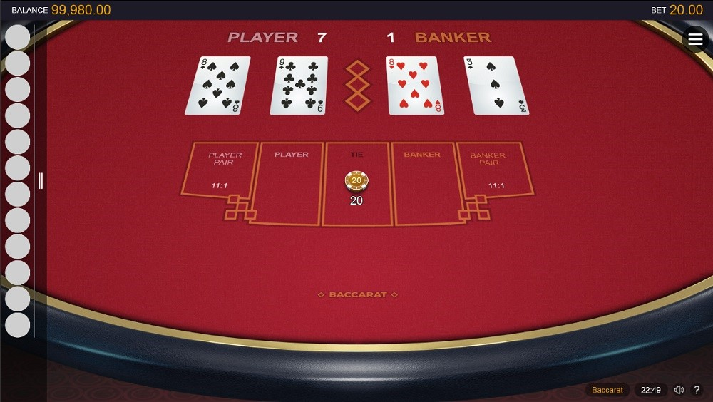 Casino of Dreams Automated Baccarat