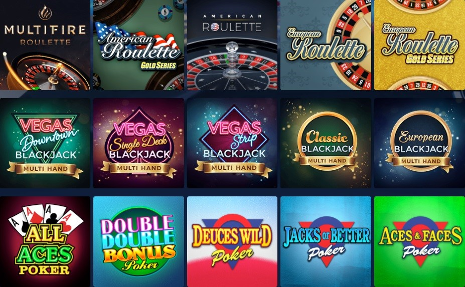 Casino of Dreams Automated Casino Table Games