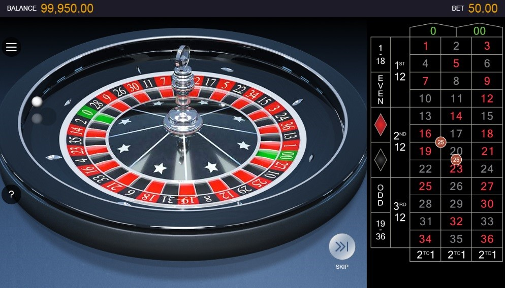 Casino of Dreams Automated Roulette
