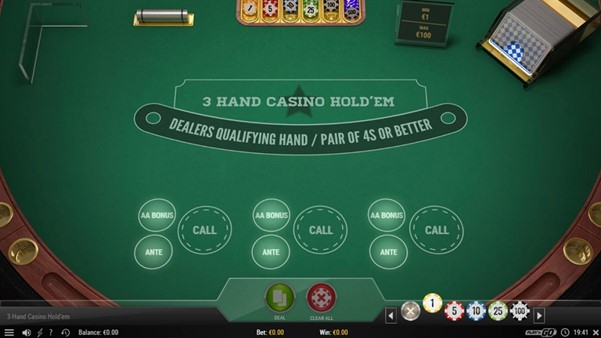 Cherry Casino Automated Poker