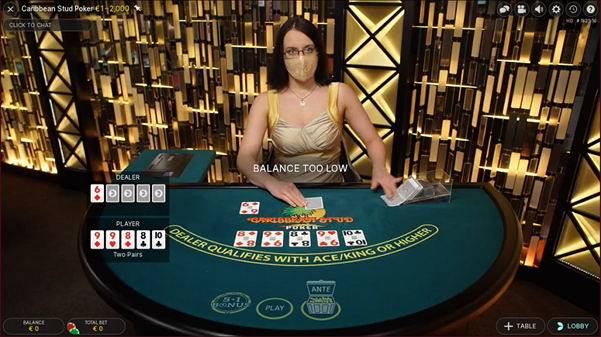 Cherry Casino Live Poker