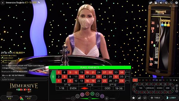 Cherry Casino Live Roulette