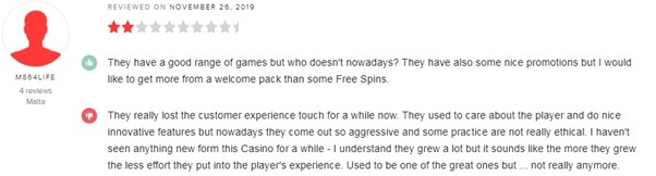 Cherry Casino Player Review 2